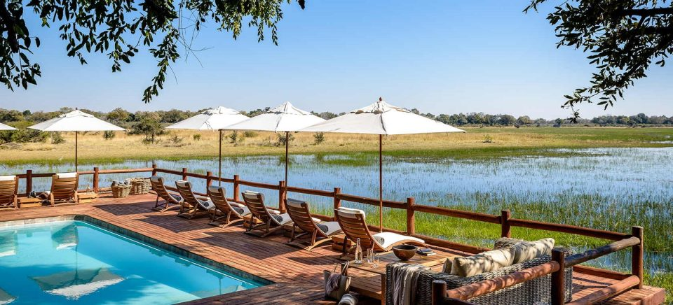 Sanctuary's Chief Camp Moremi Game Reserve Okavango Delta Botswana Africa Safari Lodge